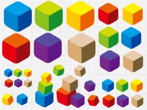 2年生 算数 はこの形の学習は実際に箱を作ると理解しやすい